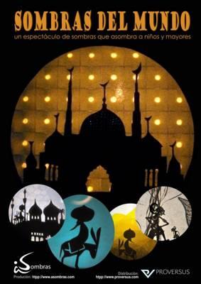 a través del teatro de las sombras conoceremos las diferentes culturas de todo el mundo
