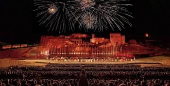 disfrutar de un espectáculo nocturno en El Sueño de Toledo para conocer la historia de España
