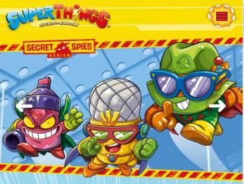 Los muñecos que se basan en la famosa serie SuperThings (SuperZings)