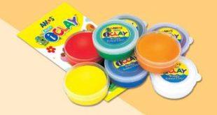 Kit de arcilla polimérica para la diversión de los más pequeños