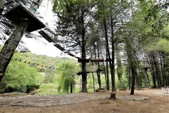 Parque de Aventuras al aire libre y con medidas de seguridad