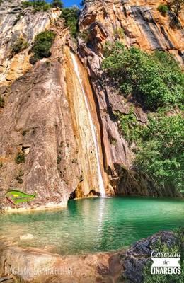 Cascada de Linarejos, Ruta Larga de senderismo durante la vista a La Berrea en Cazorla